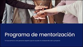 Programa de mentorización