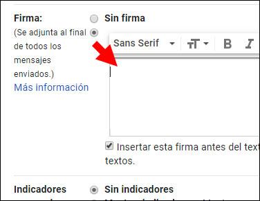 Gmail paso 2